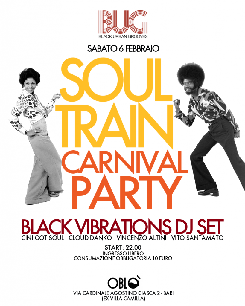 soul train carnival party_poster